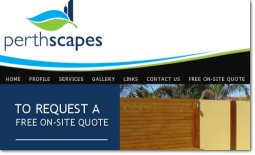 Perthscapes Website by Zap IT Website Development Perth WA